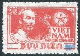 NORD VIETNAM 1954  YT N° 80M (*) ; Mi# 20 MNG  (Surcharge 10 Au Lieu De 20) - Vietnam