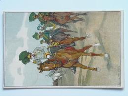 5191 Prima Guerra Pubblicitaria Militare  Pinx Koch Ludwig 1909 Franz Joseph - Guerra 1914-18