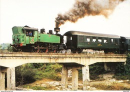 TRAIN,LOCOMOTIVE,SERBIA 62 377 - Treni