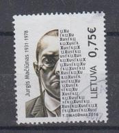 Lithuania 2016 Mi 1219 Used Maciunas - Lithuania