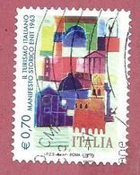 ITALIA REPUBBLICA USATO - 2014 - TURISMO TURISTICA - Manifesto ENIT - € 0,70 - S. 3501 - 6. 1946-.. Repubblica