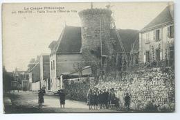 Felletin Vieille Tour De L' Hotel De Ville 908 Creuse Pittoresque 1921 Ou 1922 Enfants - Felletin