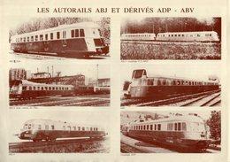 Catalogue FRANCE - TRAINS 1992 ? Modèles Autorails ABJ  Brochure - Books And Magazines