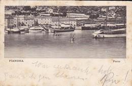 AK Fianona Plomin - Porto - 1911 (37760) - Kroatien