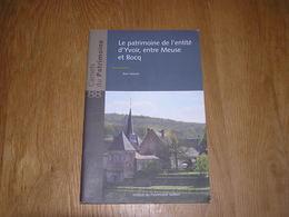 CARNETS DU PATRIMOINE N° 88 YVOIR Régionalisme Meuse Bocq Forges Poilvache Industrie Brasserie Purnode Evrehailles - Cultural
