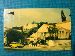 MACAU-CTM 90's MACAU VIEWS PHONE CARD - GOVERNMENT OFFICE BUILDING  - USED - RARE CARD - Macau