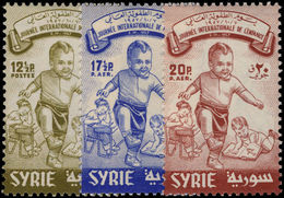 Syria 1957 International Childrens Day Unmounted Mint. - Syrie