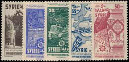 Syria 1956 Damascus Fair Unmounted Mint. - Syria