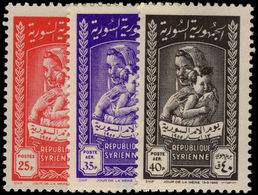 Syria 1955 Mothers Day Unmounted Mint. - Syrie