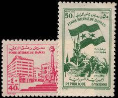 Syria 1954 Damascus Fair Unmounted Mint. - Syria