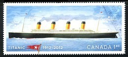 Canada (Scott No.2535 - Titanic) (o) Adhésif - 1952-.... Règne D'Elizabeth II