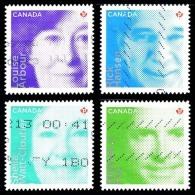 Canada (Scott No.2550-53 - Qui Ont Fait La Différence / Difference Makers) (o) Adhesif (4) - 1952-.... Règne D'Elizabeth II