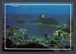 63461/ RIO DE JANEIRO, Night View, Botafogo Bay And Sugar Loaf - Rio De Janeiro