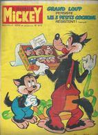 LE JOURNAL DE MICKEY  N° 1073  -  Déssin: WALT DISNEY   -    1973 - Journal De Mickey