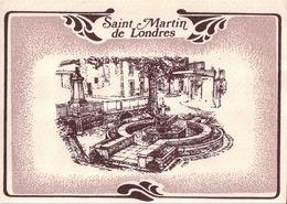 Saint Martin De Londres - Sérigraphie - Frankrijk