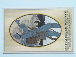 5176 Prima Guerra Pubblicitaria Militare 1916 Offizielle Postkarte Fur Rotes Kreuz Kriegshilfsburo No 14 - Weltkrieg 1914-18