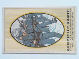 5175 Prima Guerra Pubblicitaria Militare 1916 Offizielle Postkarte Fur Rotes Kreuz Kriegshilfsburo No 13 - Weltkrieg 1914-18