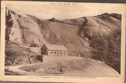 France ** & Postal, Greetings From Circuit Des Grands Cols, Cils Du Galibier, Le Chalet Et Le Tunnel (6688) - Greetings From...