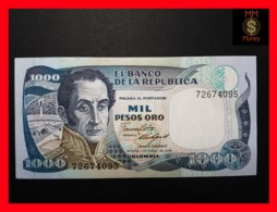 COLOMBIA 1.000 1000 Pesos Oro 1.1.1986 P. 424 C  UNC - Colombie