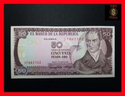 COLOMBIA 50 Pesos Oro 1.1.1986  P. 425 B UNC - Colombia