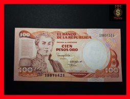 COLOMBIA 100 Pesos Oro 12.10.1988  P. 426 C UNC - Colombie