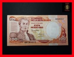 COLOMBIA 100 Pesos Oro 1.1.1990  P. 426 E UNC - Colombie