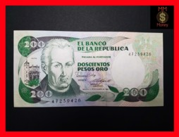 COLOMBIA 200 Pesos Oro 1.11.1985  P. 429 C  UNC - Colombia