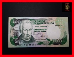 COLOMBIA 200 Pesos Oro 10.8.1992  P. 429 A  UNC - Colombia