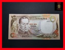 COLOMBIA 2.000 2000 Pesos  1.12.1994  P. 439  UNC - Colombia