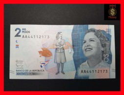 COLOMBIA 2.000 2000 Pesos  19.8.2015 P. 458 UNC - Colombie
