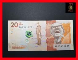 COLOMBIA 20.000 20000 Pesos  19.8.2015 P. 461 UNC - Colombie