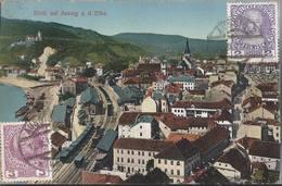 Ústí Nad Labem - Blik Auf Aussig A. D. Elbe - HP1473 - Repubblica Ceca
