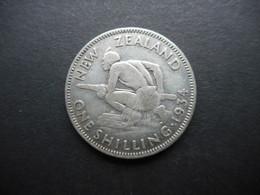 New Zealand 1 Shilling 1934 George V - Nouvelle-Zélande