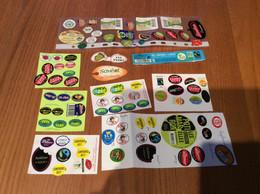 Lot D'étiquettes De Fruits - Fruits Et Légumes