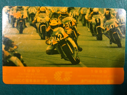 MACAU-CTM  1989\90 GRAND PRIX MACAU PHONE CARD FINE USED - MOTOR GP - Macao
