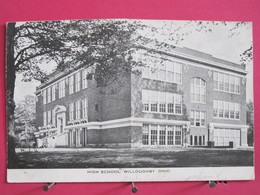 Visuel Très Peu Courant - Etats Unis - Ohio - Willoughby - High School - Scans Recto-verso - Etats-Unis