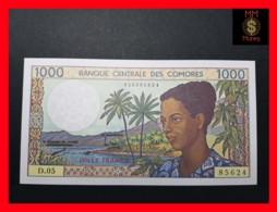 COMOROS 1.000 1000 Francs 1994  P. 11  Sig. 8  UNC - Comores
