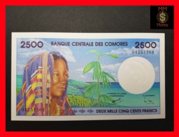 COMOROS 2.500 2500 Francs 1997  P. 13  UNC - Komoren