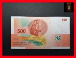 COMOROS 500 Francs 2006  P. 15 UNC - Comoros