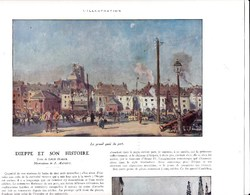 1929 Illustrations De J.Mathey DIEPPE Et Son Histoire Eglise St Jacques, Château,Port Vue Générale,Texte L. Dimier TBEB - Non Classés