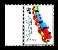GIBRALTAR 1691** 1,20£ Multicolore Jouets Anciens Petits Train - Gibraltar