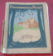 """Livre """" Souvenir Annuel """" 1929 1930 - Pensionnat De PASSY FROYENNES - Belgique ( Tournai ) - Cultural"""