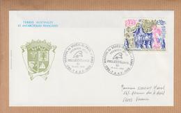 """Lettre  T.A.A.F. MARTIN De VIVIES St PAUL Le 14 Juillet 1989  POSTE AERIENNE 5,00f   """" PHILEXFRANCE 89  """" - Poste Aérienne"""