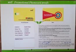 Card Proof - 3M Autohaler - Royaume-Uni
