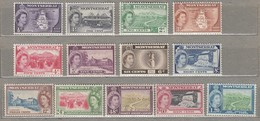 MONTSERRAT 1953 Up To 1.2 $ MNH (**) Mi 129-141 SG 136-147 #23406 - Montserrat