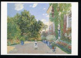 CPM Neuve Arts Peinture Claude MONET La Maison De L'artiste à Argenteuil 1873 - Paintings