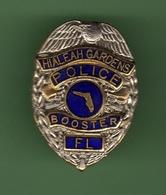 POLICE USA *** HIALEAH GARDENS BOOSTER *** 0086 - Police
