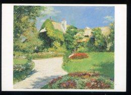 CPM Neuve Arts Peinture Gustave CAILLEBOTTE La Chaumière Trouville 1882 - Paintings