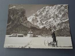 St Bartholoma Mit Watzmannostwand Im Winter. Belle Carte Glacée. 1963 Timbre - Allemagne