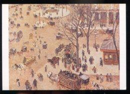 CPM Neuve Arts Peinture Camille PISSARRO La Place Du Théâtre Français Paris 1898 - Paintings